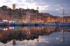Cannes in the French Riviera. Great to visit in March and pretty much any other month of the year! May is especially exciting because of the Cannes Film Festival.
