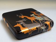 Museum Quality  Antique Japanese Lacquer Writing Box