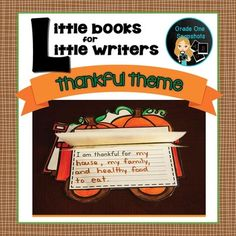 Thanksgiving-Writing For Primary Students $