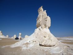 Египетские чудо камни - находятся в центральной части Египта, в Белой пустыне между оазисами Бахария и Фарафра.