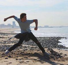 Nash Grier, Jack Johnson, Jack And Jack, Magcon, Ballet Skirt, Sporty, Running, Style, Instagram