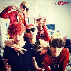 Bigbang in red is