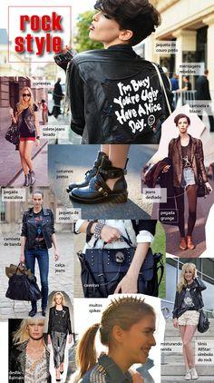 Dia do Rock - Layout criado para o blog da marca de calçados Hetane.