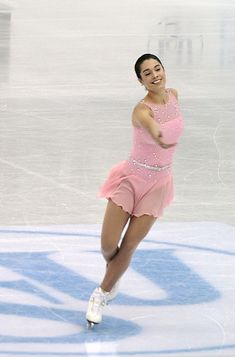 Alissa Czisny -Pink Figure Skating / Ice Skating dress inspiration for Sk8 Gr8 Designs.