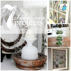 Have you ever noticed how many uses there are for chicken wire?  I have started on a few of my own DIYchicken wire projects to add to o...