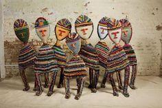 Nek Chand, Untitled Figures (from Rock Garden) Outsider Art, Modern Pop Art, Art Sites, Crochet Art, Naive Art, Rock, Art And Architecture, Art World, Art Inspo