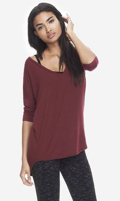 Express One Eleven London Tee and wear with a cute little bralette