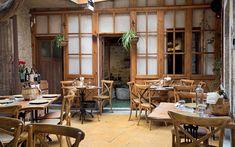 Αποτέλεσμα εικόνας για peskesi restaurant Cafe Bar, Travel And Leisure, Greece, Conference Room, Restaurant, Table, Shops, Furniture, Beautiful