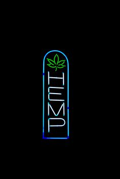 tumblr light sign | lights light weed signs night sign neon store hemp capitol dslr ...