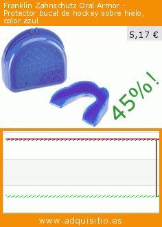 Franklin Zahnschutz Oral Armor - Protector bucal de hockey sobre hielo, color azul (Deportes). Baja 45%! Precio actual 5,17 €, el precio anterior fue de 9,48 €. https://www.adquisitio.es/franklin/zahnschutz-oral-armor-0