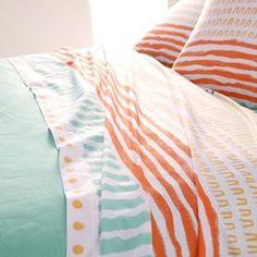 Sábana estampada Rythme La Redoute Interieurs - Textil Hogar