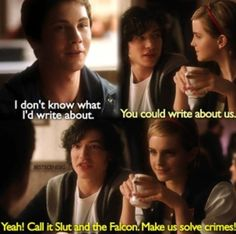 Perks of being a wallflower!