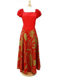 Hula Dress M310 - Hula Dress Size Order - | AlohaOutlet SelectShop Samoan Dress, Island Style Clothing, Different Dress Styles, Island Wear, Tropical Dress, Types Of Dresses, Fashion Dresses, Women's Fashion, Dress Patterns