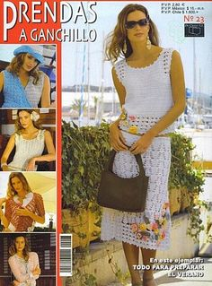 Prendas a Ganchillo Nº 23 – Gaby Munday – Picasa tīmekļa albumi