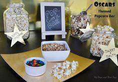 How to Create an Oscars Popcorn Bar on a budget!