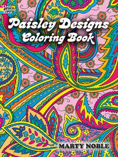 Paisley Designs Coloring Book | 35 Coloring Books For People Of All Ages
