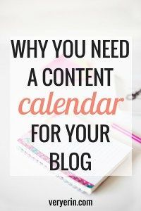 Why You Need a Content Calendar for Your Blog