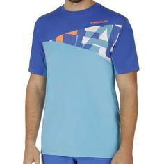 Arne T-Shirt Men turquise/blue