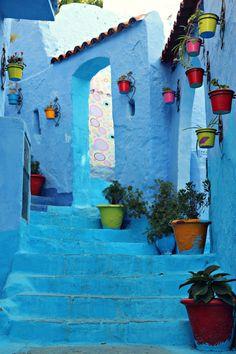 Chefchaouen Reisebericht: Folgt uns in die wunderschöne blaue Stadt im Rifgebirge ✈ Viele Fotos gibt es hier