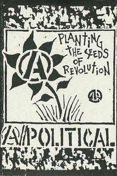 Images for A//Political - Planting The Seeds Of Revolution Revolution, Arte Punk, Anarcho Punk, Punk Poster, Punk Patches, Punks Not Dead, Protest Posters, Riot Grrrl, Punk Rock