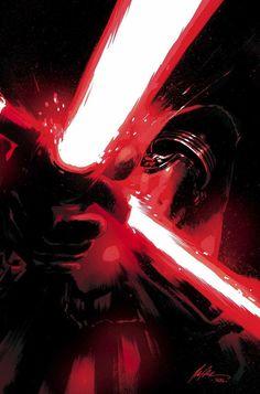 Star Wars: The Force Awakens Adaptation #5 - Kaylo Ren by Rafael Albuquerque *