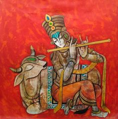 Krishna by Mukesh Mandal