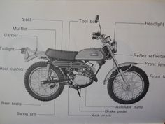 Yamaha mt 09 owners manual enpdf motorcycles pinterest original yamaha 1969 ct1 175 vintage enduro owners manual handbook ct 1 ct 1 69 fandeluxe Choice Image