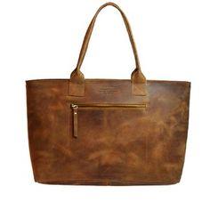 Kožená vintage kabelka Madam Rose, camel