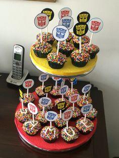 Transformers cupcakes …