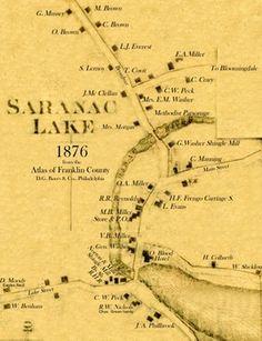 A History of Saranac Lake - Historic Saranac Lake - LocalWiki Perhaps Saranac Lake is our location?
