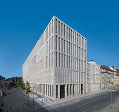 Grimm Zenter in Berlin by Max Dudler Architects, photo by Stefan Müller
