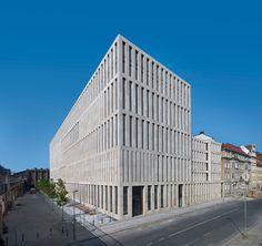 Jacob-und-Wilhelm-Grimm-Zentrum in Berlin / Germany by Max Dudler Architects
