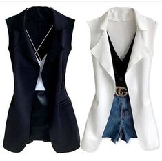 Are you looking for stylish and trendy outfits?de is the leading Online Store in Germany for Ladies Outfits & Accessories! We offer inexpensive and trendy stuff for fashion lovers. Vest Outfits, Chic Outfits, Ladies Outfits, Trendy Outfits, Western Outfits, Casual Chic, Coats For Women, Casual Looks, Under Armour