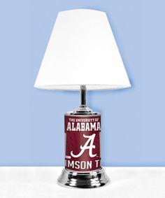 This Alabama Crimson Tide Fan Lamp Is Perfect! #zulilyfinds. Alabama  BedroomAlabama DecorAlabama ...