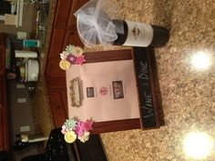 Silent auction idea...creative way to display dinner certificates!