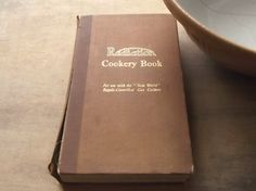 1930s Cookery Book Radiation cookery by EAGERforWORD on Etsy, £4.00