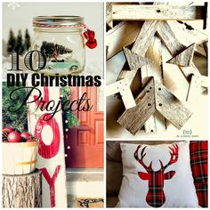 Little House of Four: {Friday Favorites} 10 DIY Christmas Projects Cabin Christmas, Christmas Love, Best Christmas Gifts, Country Christmas, Christmas Traditions, All Things Christmas, Beautiful Christmas, Holiday Fun, Christmas Turkey