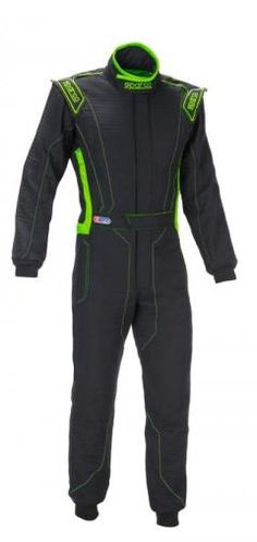b426558e14a5e Sparco Victory RS-4 Racing Suit Black Green Rs 4
