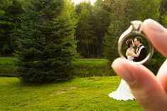 Love the framing of this #wedding photo!