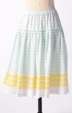 Watermark Skirt by Downeast Basics. Would look fine with a t-shirt or other casual stuff.