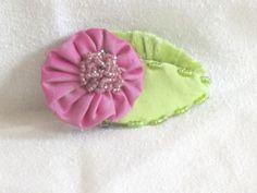 Handmade Flower Brooch  Handmade Silk Brooch  by nedaoriginals