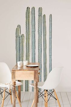 Desert Cacti Wall Decal Set | Urban Outfitters