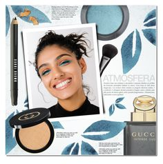 """""""Cool Beauty"""" by a-a-nica ❤ liked on Polyvore featuring beauty, MAC Cosmetics, Gucci and Bobbi Brown Cosmetics"""