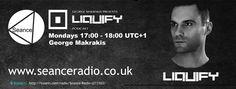 Tune in to the Liquify Podcast on Seance Radio with George Makrakis Mondays 17:00 UTC+1 #Techno