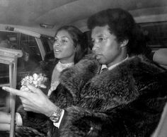 Arthur Ashe and Jeanne-Marie Moutoussamy Wedding 1977