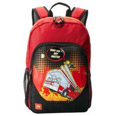 LEGO Fire City Nights Classic Backpack School Bag, $29.99 (http://www.znvora.com/lego-fire-city-nights-classic-backpack-school-bag/)
