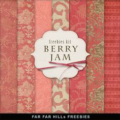 New Freebies Kit - Berry Jam