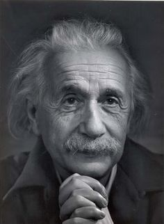 "Although intially I was made aware of Albert Einstein because of his achievements in Science it is his humanistic wisdom that I came to admire him for: """"Any intelligent fool can make things bigger, more complex, and more violent. It takes a touch of genius -- and a lot of courage -- to move in the opposite direction."""
