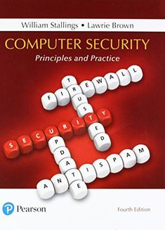 Computer Security: Principles and Practice (4th Edition) ... https://www.amazon.com/dp/0134794109/ref=cm_sw_r_pi_dp_U_x_pOmOAbFJ42FZZ