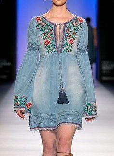 New jewerly boho gypsy inspiration ideas Boho Gypsy, Bohemian Mode, Boho Chic, Hippie Boho, Cute Dresses, Casual Dresses, Casual Outfits, Denim Fashion, Boho Fashion
